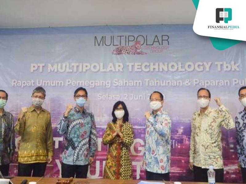 PT Multipolar Jual Saham MPPA
