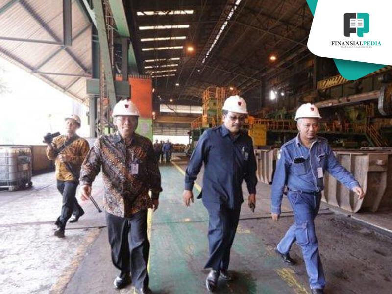 PT Krakatau Steel Incar Pendapatan Rp 28 Triliun pada 2021