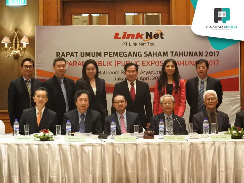 Kuartal Pertama 2021, Laba Double Digit Link Net